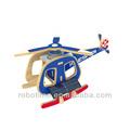 Accionada solar bricolaje juguetes - Helicóptero B