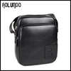 Europe style designer bags spain leather messenger bag black shoulder bag