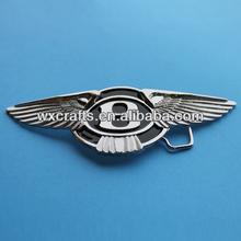 Metal Bentley race car 164 car logo belt buckle