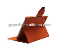 tablet leather case cover for ipad mini,smart leather case for mini ipad