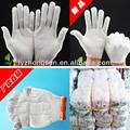 Football américain gants, 7 g, 10 g, 13 g, 15 G tricot gant, De sécurité coton blanc gants de travail