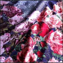2014 fashion wholsale top 10 items viscose satin fabric