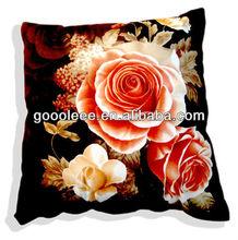 promotional wholesale cheap 3d flower cushion