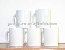 white porcelain 11oz coffee mug for sublimation