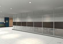 High spec partition used original aluminium office partition system