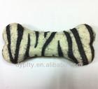 Brand New Fashion Pet Toy Dog Chew Throw With Sound Squeaker Cotton Wool Bone