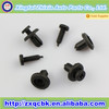 ZX0511 Black Automotive Plastic Clips strap auto glass fastener plastic clip