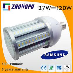 led lens 5 degrees led corn bulb 36w 360 degree White 5000~5500k Waterproof IP65 (Replace 180w Energy-saving lamps)