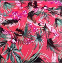 2014 fashion wholesale chinese manufacturer 100% rayon satin printed fabric