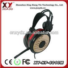 2013 big earmuff headphone for iphone 5 with CE RoHS