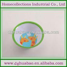 green melamine ware