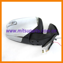 Right Door Mirror Assembly Chrome for Mitsubishi Pickup Triton L200 KA4T KB4T 4D56 MN167430