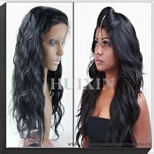 Human hair wig - Silky Beauty Virgin Brazilian Human hair full lace wig