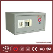 Elegant light grey 15kg small combination lock safe box