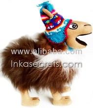"""Alpaca stuffed """"crazy llama"""", 100% baby alpaca """"llama loca"""""""