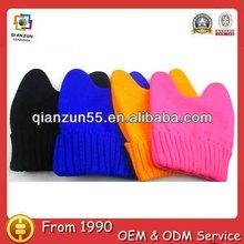 Comfortable fashion cute custom wholesale cotton baby beanie cap