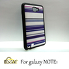 oem hot selling make your own cover for samsung galaxy note purple china manufacturing