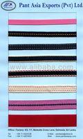 Narrow Fabrics/ Cords/ Tapes/ Elastic tapes