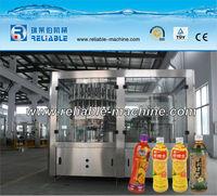 Monobloc Mango/Apple/Orange Juice Processing Filling Machine