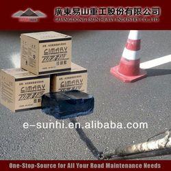 TE-I driveway crack repair