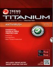 Titanium Antivirus + 2012 - 10 Users