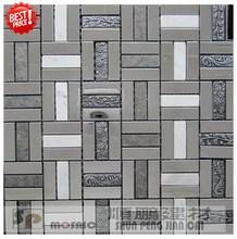2014 new designer metallic mosaic blend