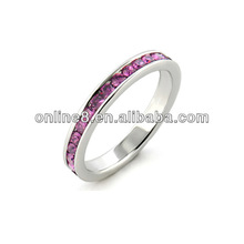 Exquisite Full Diamond Stainless Steel Ring cock ball ring