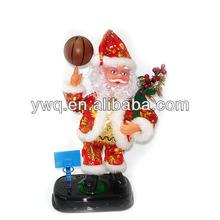 2015Mini Inflatable Christmas santa dancing santa music box