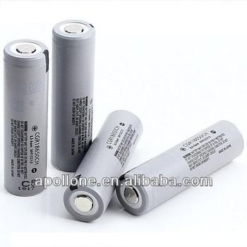Original CGR18650CH cells 2250mAh li ion batteries