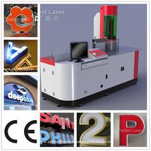 Solar Power Advertising Display Channel Letter Bending Machine