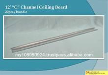"12' ""C"" Channel Ceiling Board"