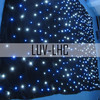 LUV-LHC306 3m*6m LED Curtain light with blue stars
