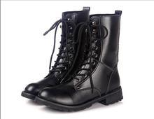 #053 2014 PU Winter cheap super warm women Snow Boot black color