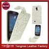 Hard Case For Samsung Galaxy S4 Mini,White Luxury Bling Diamond Flip Leather Case Cover For Samsung Galaxy S4 Mini i9190