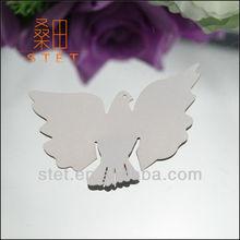 Wholesale dove shape paper cut christmas place cards