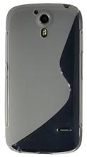 TPU Case S-line for KONKA W980 transparent white