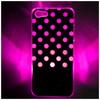 Sense Flash LED Light Color Changing Dot Case Cover for Apple iPhone 5