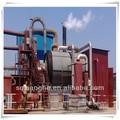 negro de aceite del motor y el aceite de la planta de refinación
