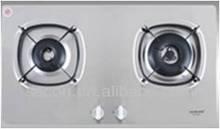 OEM SS 2 burner built-in kitchen gas hob gas stove