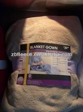 coral fleece tv blanket with export in the word
