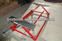 CE certified mini tilting car lift for auto repair