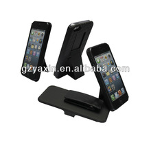 Combo holster universal leather cases for mobile phone for iphone 5 5s