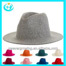 2014 fashion wool felt fedora hat