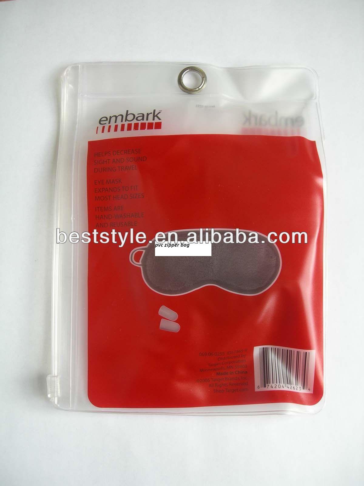 Clear PVC Custom PVC Waterproof Phone Bag