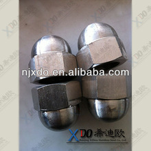 Nickel 200/201 N02200/N0220 stainless steel hex nut cap