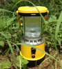 Field Solar Battery Lantern Led Solar Light with USB Socket and AC Charger