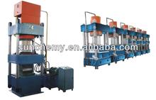 Rubber machine Downward Plate Vulcanizer/Pillar structure/press