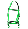 PVC horse bridle used in western horse racing