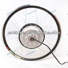 60v 1500w brushless gearless hub motor wheel 20inch with disc brake for electric bike