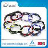 custom NFL team color blank rope bracelet in twist style
